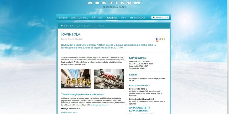 Arktikum Café & Restaurant Oy