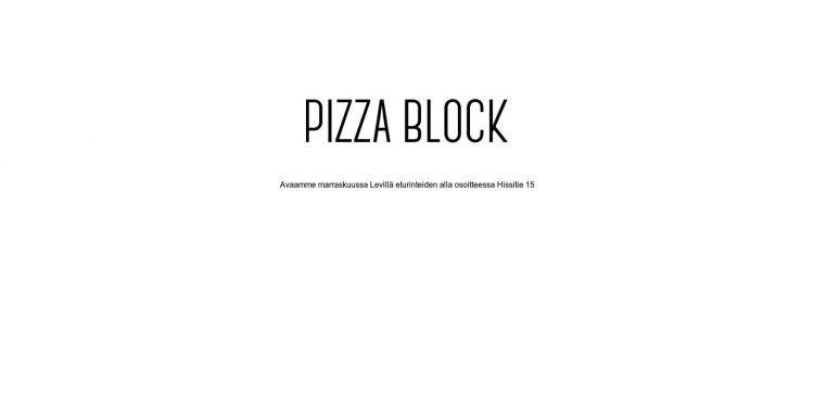 Pizza Block